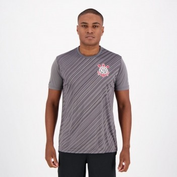 Camisa Corinthians Stroke SCCP Chumbo
