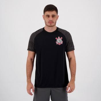 Camisa Corinthians Sublime Preta e Chumbo