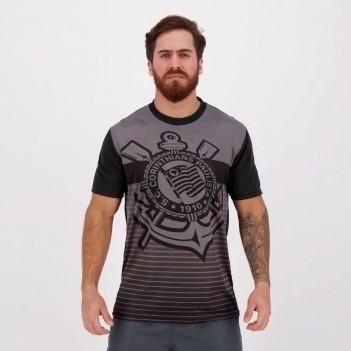 Camisa Corinthians Tridimensional Preta