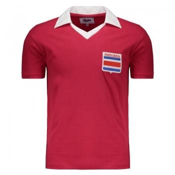 Camisa Costa Rica 1990 Retrô