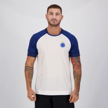 Camisa Cruzeiro Cell Branca e Azul