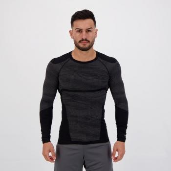 Camisa de Compressão Poker Skin Power Plus X-Ray Preta