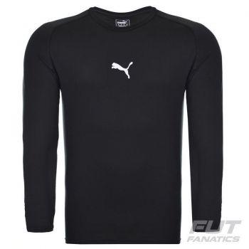 Camisa de Compressão Puma Botafogo Manga Longa Jogador