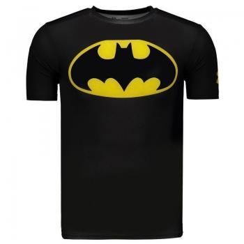 Camisa de Compressão Under Armour Batman Preta