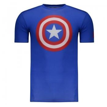 Camisa de Compressão Under Armour Capitão América