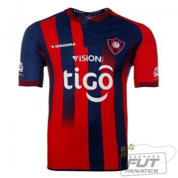 Camisa Diadora Cerro Porteño Home 2014