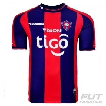 Camisa Diadora Cerro Porteño Home 2015