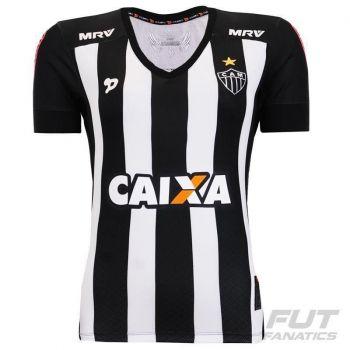 Camisa Dryworld Atlético Mineiro I 2016 Feminina N° 10
