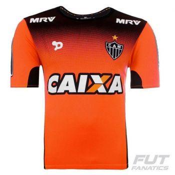 Camisa Dryworld Atlético Mineiro Treino 2016 Atleta Infantil