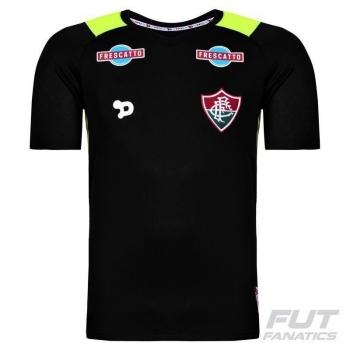Camisa Dryworld Fluminense Goleiro I 2016 Infantil Preta