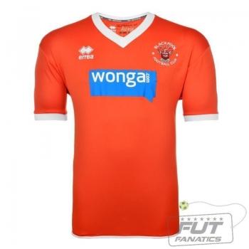 Camisa Errea Blackpool Home 2014