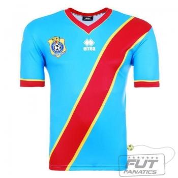 Camisa Errea RD Congo Home 2014