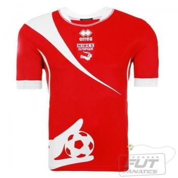 Camisa Errea Nimes Olympique Home 2015