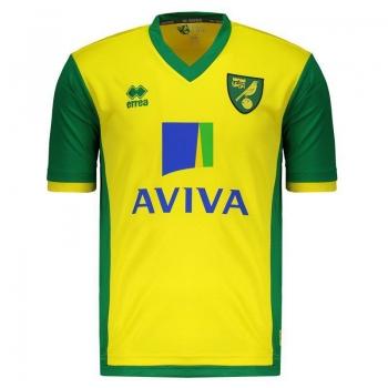 Camisa Errea Norwich Home 2014