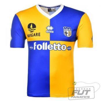 Camisa Errea Parma Away 2014 Centenary