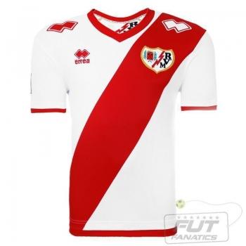 Camisa Errea Rayo Vallecano Home 2015