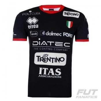 Camisa Errea Trentino Vôlei Home 2016