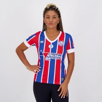 Camisa Esquadrão Bahia II 2021 Feminina Torcedor