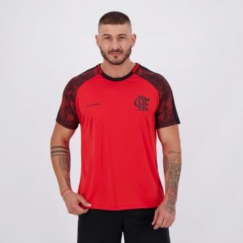 Camisa Flamengo Climber Vermelha e Preta