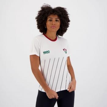 Camisa Fluminense Being Feminina Branca