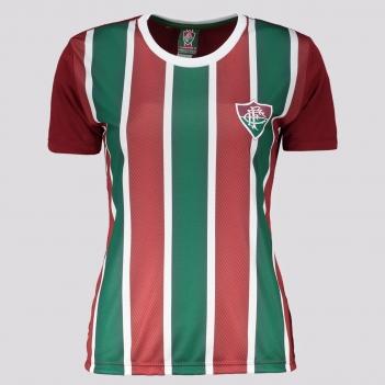 Camisa Fluminense Change Feminina Grená e Verde