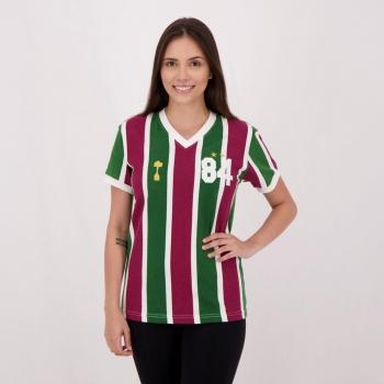 Camisa Fluminense Retrô 1984 Feminina
