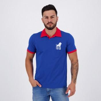 Camisa Fortaleza Retrô 1918 Azul