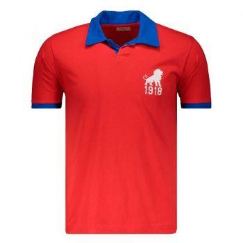 Camisa Fortaleza Retrô 1918 Vermelha