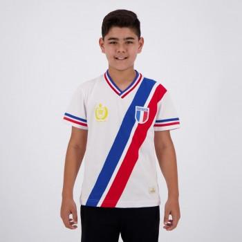Camisa Fortaleza Retrô Centenário 1946 Juvenil