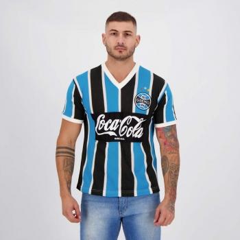Camisa Grêmio Retrô 1989 Coca Cola N° 8