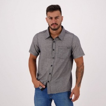 Camisa HD Classic Style Especial Cinza Mescla