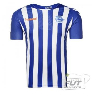 Camisa Hummel Alavés Home 2014