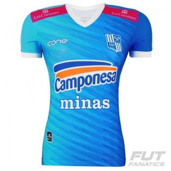Camisa Ícone Sports Minas Tênis Clube 2016 Vôlei Feminina