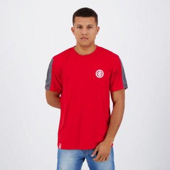 Camisa Internacional Vermelha e Cinza