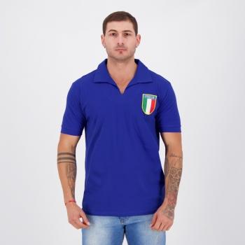 Camisa Itália Retrô 1982