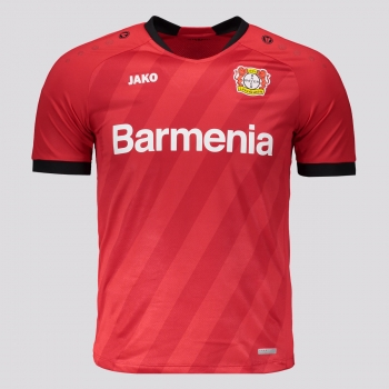Camisa Jako Bayer Leverkusen Home 2020 Juvenil
