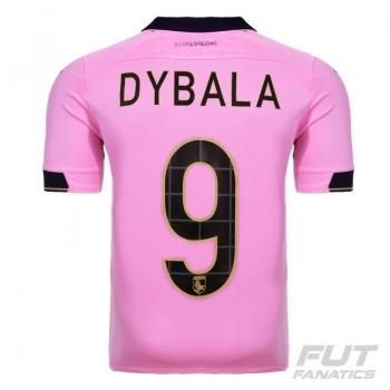 Camisa Joma Palermo Home 2015 9 Dybala Serie A
