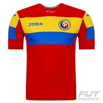 Camisa Joma Romênia Treino 2016