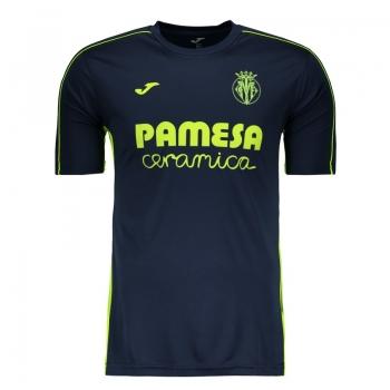 Camisa Joma Villarreal Treino 2017 Marinho