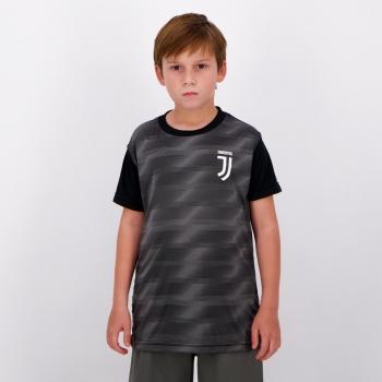 Camisa Juventus Anya Infantil Preta