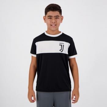 Camisa Juventus Classic Juvenil Preta