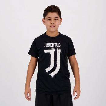 Camisa Juventus Dry Juvenil Preta