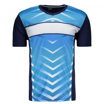 Camisa Kanxa Bage Marinho