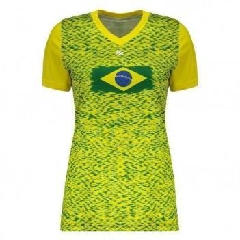 Camiseta Kanxa Brasil Feminina