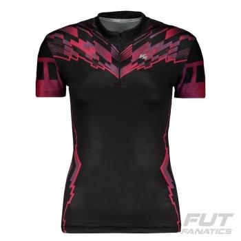 Camiseta Kanxa Ciclista Maya Feminina Preta