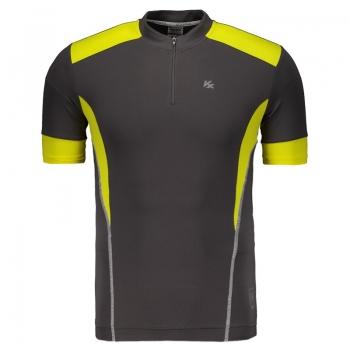 Camisa Kanxa Ciclista Uv Fast Chumbo