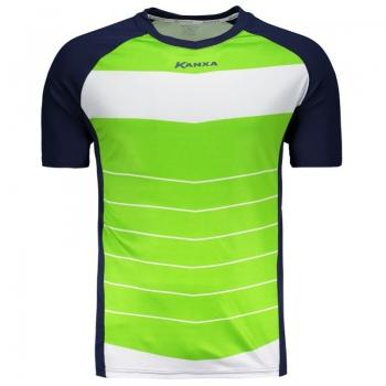 Camisa Kanxa Colorado Marinho e Verde