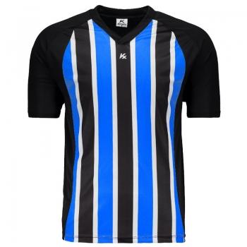 Camisa Kanxa Pop Clip Preta e Royal