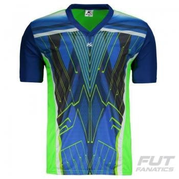 Camisa Kanxa Pop Glam Goleiro Verde
