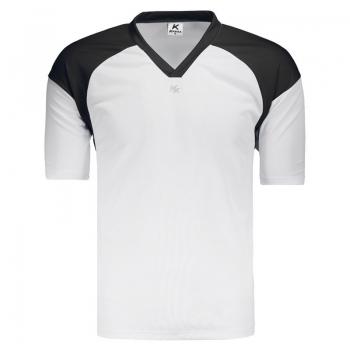 Camisa Kanxa Pop Linz Branca e Preta